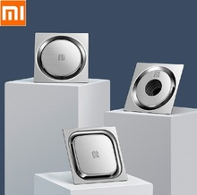Xiaomi Vierkante Ronde Wasmachine Deodorant Afvoerputje Badkamer keuken 304 Rvs Grote Stroom Afdruiprek
