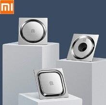 Xiaomi escorredor de piso de máquina de lavar, redondo, quadrado, desodorante, cozinha, banheiro, 304, aço inoxidável, grande fluxo
