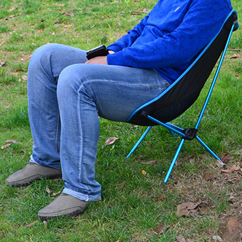 Легкий складной пляж стул на открытом воздухе портативный стул для кемпинга для Пеший Туризм Рыбалка Пикник барбекю призвание Повседневное мебель для сада