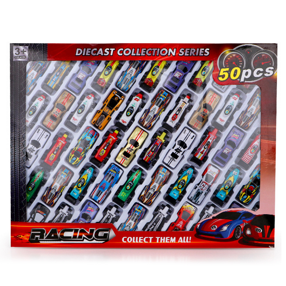 32/50 PCS Kids Mini Alloy Diecast Car Model Racing Car Vehicles Toy For Boys Children Party Supplies Christmas Birthday Gifts