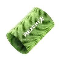 Novo 1 pçs suporte de cinta de pulso respirável gelo refrigeração suor banda tênis wrap esporte sweatband para ginásio yoga voleibol|Munhequeira|Esporte e Lazer -