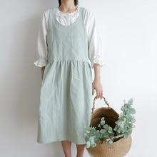 Фартук для приготовления пищи, форма для выпечки в японском стиле, женская одежда без рукавов