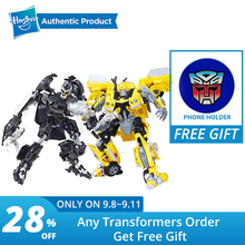 Hasbro Transformers Studio Series  Deluxe Class Transformers Barricade Bumblebee ambulance Jazz Action Figure трансформер transformers energon igniters bumblebee e0691 e0742