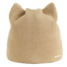 Hat 2019Top Women Autumn And Winter Beanie Russian Caps Warm Cat Hats Earmuffs