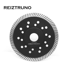 REIZTRUNO 125mm Diamond Saw Blade 5-inch Turbo rim for concrete granite cutting tools with Reinforced central core