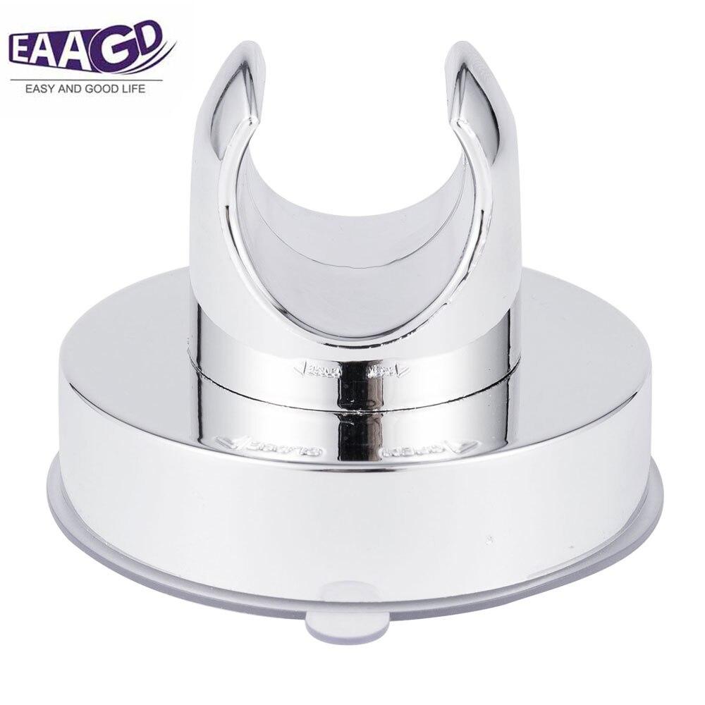 1Pcs Vacuum Suction Cup Shower Head Wall Mount Holder Removable Showerhead & Bidet Sprayer Bracket