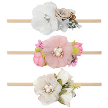 Аксессуары для новорожденных эластичная повязка на голову с