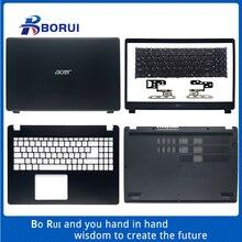 Ноутбук ЖК-дисплей задняя крышка/передняя панель/Упор для рук/клавиатуры/чехол для задней части корпуса/петля для ноутбука Acer Aspire 3 A315-42 A315-42G...