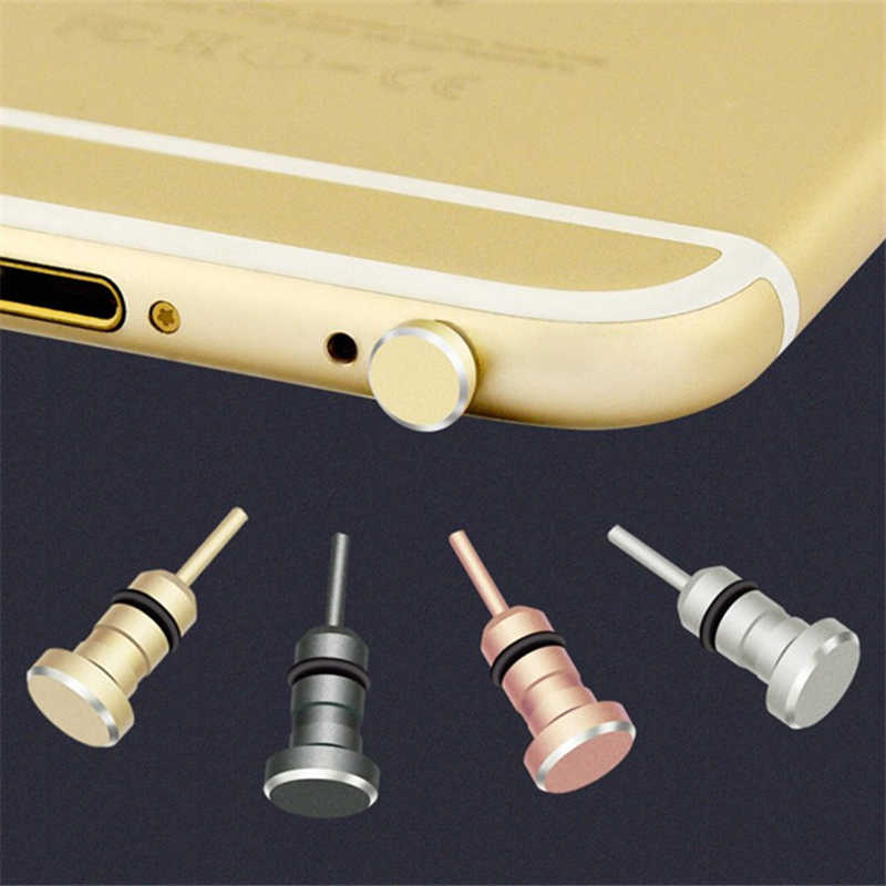 Audio 3.5 Mm Stof Plug 3.5 Aux Headset Jack Interface Anti Mobiele Telefoon Kaart Halen Kaart Pin Voor Apple Iphone 5 6 Plus