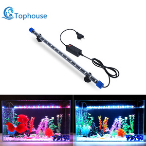 Aquarium Light LED Waterproof Fish Tank Light Underwater Fish Lamp Aquariums Decor Lighting Plant Lamp 19-49CM EU Power