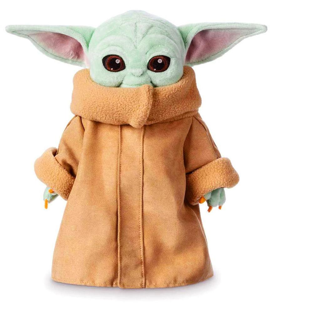 Baby Yoda The Mandalorian Child Plush Toys 12 Inch Soft Figure Dolls Collection Valentine's Day Birthday Gifts