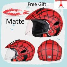 Fashion Kids motor helmet safety open face motorcycle helmet