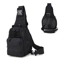 Tactical Chest Bag Hunting Pack Pistol Gun Case Outdoor Sport Molle Bag Crossbody Shoulder Bag Hiking Camping Cycling Backpack