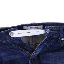 1Pc elastyczny pas Extender regulowane spodnie przycisk Extender dla Jean w ciąży pasek damski rozszerzenie klamra dodatki do odzieży tanie tanio Strong Adjustable Pants Button Extenders Elastic Waist Extenders