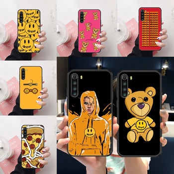 Drew Justin Bieber Phone case For Xiaomi Redmi Note 4X 6A 7 7A 8 8T 9 9A 9S 10 K30 Pro Ultra black trend cover soft funda image