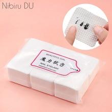 540 sztuk Lint-Free zmywacz do paznokci chusteczki bawełniane Cleaner papierowa podkładka ręczna serwetka lakier do paznokci Art Cleaning narzędzia do Manicure