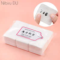 540Pcs Lint-Free Nail Polish Remover Cotton Wipes Cleaner Paper Pad Hand Napkin Nails Polish Art Cleaning Manicure Tools