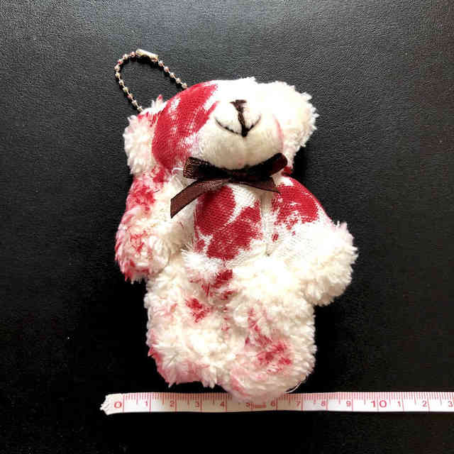 NiceMixLittle ours en peluche jouets foulards en soie ours en peluche poupée de mariage cadeau danniversaire en peluche petit jouet ours