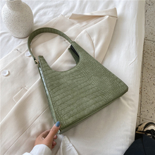 Burminsa Chic Design Stone Pattern Shoulder Bags For Women Summer Candy Color Small Underarm Bag High Quality Tote Handbags 2020 ladylike women s tote bag with animal pattern and color block design