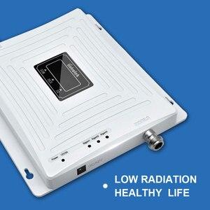 Image 4 - Lintratek إشارة الداعم 2G 3G 4G LTE 1800mhz 2100mhz 900mhz GSM DCS WCDMA ثلاثي الفرقة الخلوية مكرر إشارة LCD الجيل الثالث 3G 4G مكبر للصوت