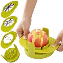 4pcs Apple Cutter Mango Splitters Avocado Fruit Slicer Corer Pear Cutters Knife Peeler Cut Tool