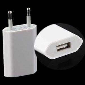 Image 3 - Cargador de corriente de pato con puerto USB de 5V y 1A adaptador de pared de CA para IPhone 11 pro max XR 8 7 6 5, 50 unidades