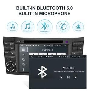 Image 2 - Isudar PX6 Android 10 2 DIN Máy Nghe Nhạc Đa Phương Tiện Cho Xe Mercedes/Benz/E Cấp/W211/e300/CLK/W209/CLS/W219 Đầu DVD GPS Đài Phát Thanh