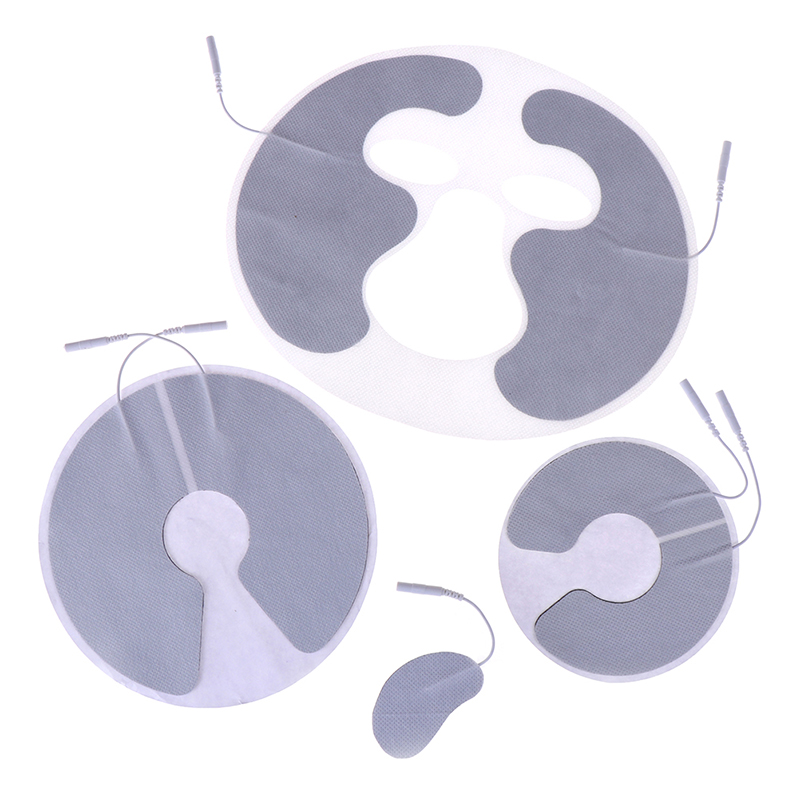 4 Type Face Breast Electrode Pads For Electric Tens Electric Massager FrequencyAcupuncture Digital Therapy Machine For Slimming