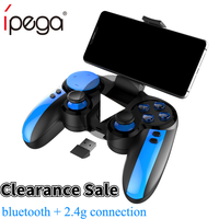 Ipega 9090 PG-9090 Trigger Pubg Gamepad Controller Joystick Mobile per telefono cellulare PC Android iPhone TV Game Pad Console Control