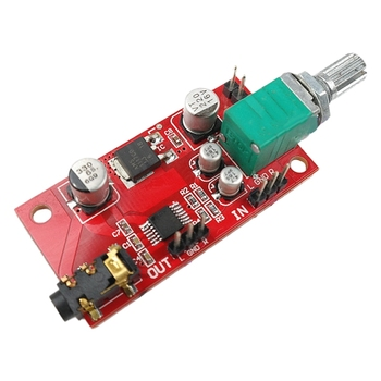 Headphone Amplifier Board MAX4410 Miniature Amp Can Be Used As a Preamplifier Instead of NE5532