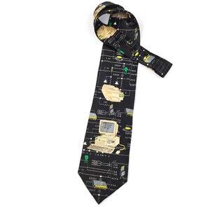 Image 4 - משלוח חינם חדש זכר גברים של מקורי עיצוב כיף נשי מחשב דקורטיבי חולצה מגמת אישית הדפסת עיצוב אירופה ncktie