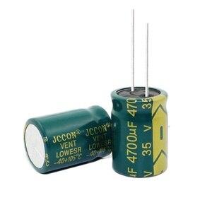 Image 2 - 35В 4700 мкФ 4700 мкФ 35В электролитические конденсаторы размером: 18*25 мм лучшее качество New origina