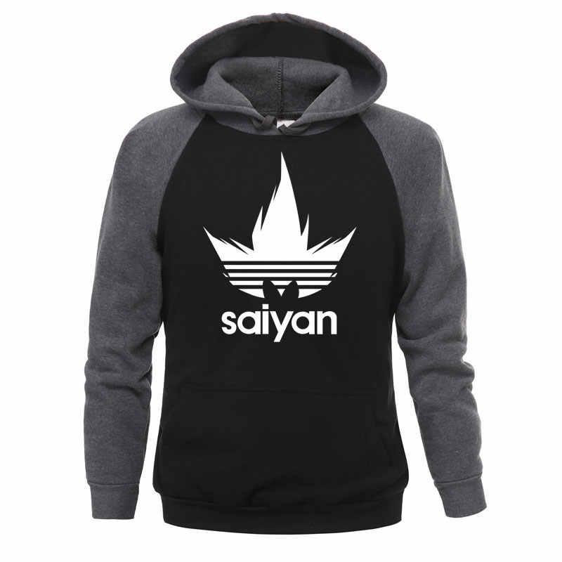 Original männer hoodie Japanischen anime Dragon Ball Z Super Saiyan Druck Hoodie Mann Fleece Warme Trainingsanzug Neue 2020 straße hoodie