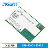 CC1352P SMD IoT модуль приемопередатчика SUB-1GHz 2,4 ГГц 433 МГц E79-400DM2005S модуль arm