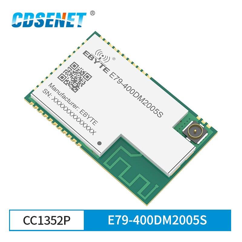 CC1352P SMD IoT módulo transceptor SUB-1GHz 2,4 GHz 433MHz E79-400DM2005S Módulo de brazo