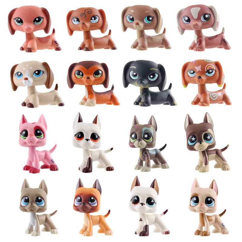 Lps Pet Shop Toys Dolls Cat Great Dane Dog Dachshund Collection Stand Action Figures High Quality Littlest Model Toys Gifts Action Toy Figures Aliexpress