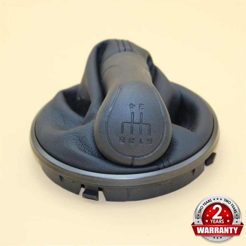 Skoda Roomster 2006 2007 2008 2009 2010 araba araba-styling 5 hız araba vites sopa vites topuzu deri gaiter Boot siyah