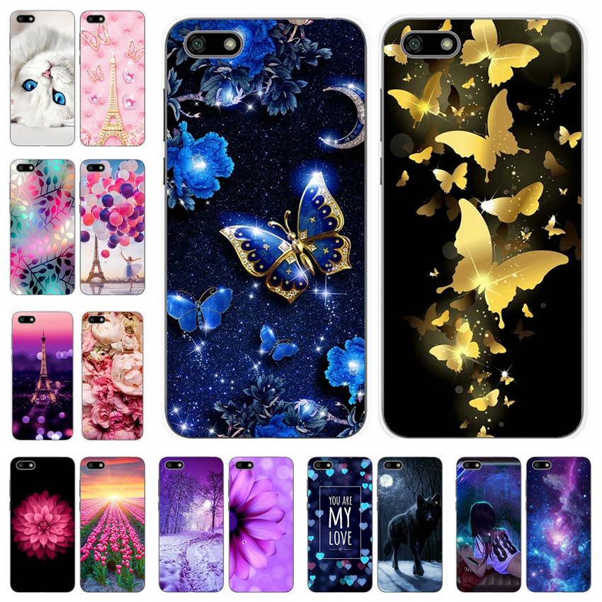 For <font><b>Huawei</b></font> Y5 Prime <font><b>2018</b></font> Y5 <font><b>2018</b></font> Soft Silicone Cover Cases <font><b>5</b></font>.45' Printing Phone Shell for <font><b>Huawei</b></font> <font><b>Y</b></font> <font><b>5</b></font> Prime <font><b>2018</b></font> <font><b>Fundas</b></font> Coque Bag image