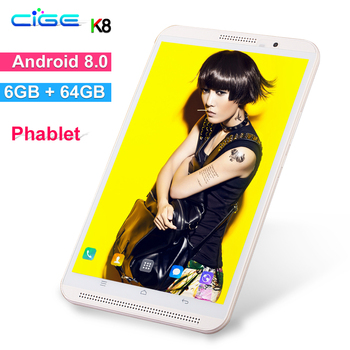 Nova Chegada 8 polegada Tablet Pc 4G Phone Call Android 8.0 Octa Núcleo 3G 4G LTE Móvel tablets Dual SIM WiFi 1280x800 IPS Tela 10