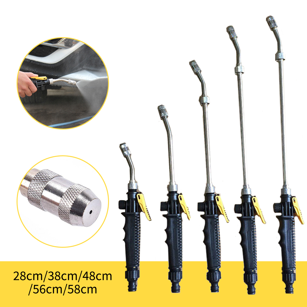 Car High Pressure Water  46cm Jet Garden Washer Hose Wand Nozzle Sprayer Watering Spray Sprinkler Cleaning Tool 1