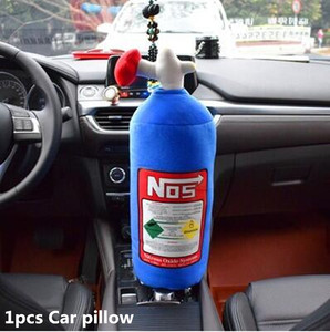 Image 4 - NOS רכב מושב משענת ראש כרית צוואר כרית רכב אביזרי עבור בנות זיכרון קצף כרית קריקטורה סימולציה אש לכיבוי