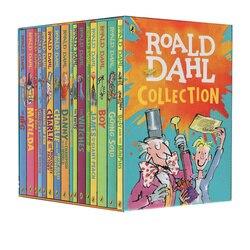 16 książek/zestaw Roald Dahl kolekcja literatura dziecięca angielski obraz powieść książka przygodowa zestaw wczesna edukacja czytanie dla dzieci
