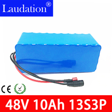 48v lithium ion battery 48V 10Ah electric bike battery pack 18650 battery pack  48v 9.6ah built-in 15A BMS For electric bicycles 48v sanyo ga battery pack 17 5ah electric bike lithium ion battery for 1000w
