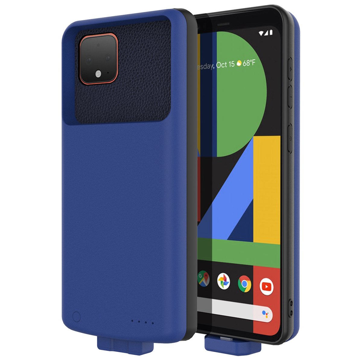 For Google Pixel 4 XL Battery Case 7000Mah Magnetic External Backup Charger Power Bank Protective Cover Pixel 4XL Case Battery