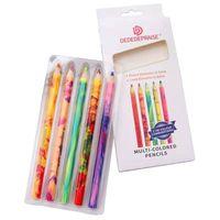 5 шт. мягкие пастельные карандаши деревянные цветные карандаши для рисования многоцветные карандаши для рисования Q1QF