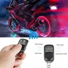 12Pcs Motorfiets 120LED 5050SMD Rgb Waterdichte Ultra Flexibele Onder Glow Lights Strip Neon Kit + Remote Voor Yamaha voor Hodna