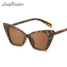 Longkeeper Винтаж солнцезащитные очки «кошачий глаз» Для женщин