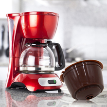 Capsule Baskets COFFEE-FILTER Dolce Gusto Home 1pcs PP with Lid for Kitchen Food-Grade