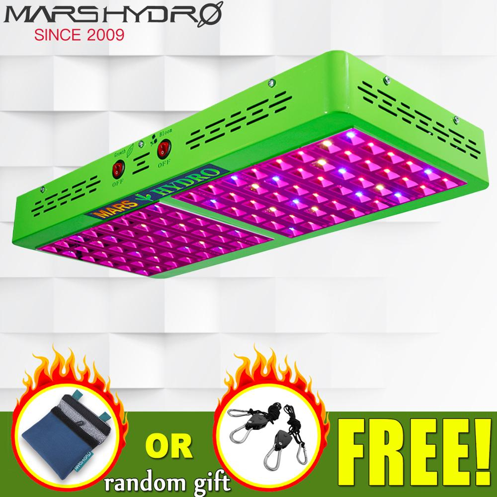Mars Hydro Reflector 600W LED Grow Light Full Spectrum IR For Indoor Plants Greenhouse Hydroponic Indoor Seeding And Flowering