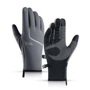 Спортивные перчатки GOLOVEJOY DB38 унисекс полный палец термальный флис Велоспорт Туризм нескользящий сенсорный экран Golves